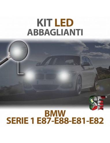 KIT FULL LED ABBAGLIANTE BMW SERIE 1 E87 E88 E81 E82 Canbus