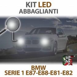 Lampade Led Abbaglianti H7 per BMW Serie 1 - E87 E88 E81 E82 (2003 - 2013) con tecnologia CANBUS