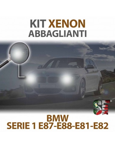 KIT XENON ABBAGLIANTE BMW SERIE 1 E87 E88 E81 E82 Canbus