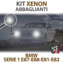 Lampade Xenon Abbaglianti H7 per BMW Serie 1 - E87 E88 E81 E82 (2003 - 2013) con tecnologia CANBUS