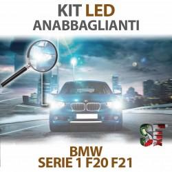 Lampade Led Anabbaglianti H7 per BMW Serie 1 - F20 / F21 (2010 - 2019) con tecnologia CANBUS