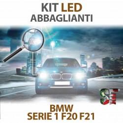 Lampade Led Abbaglianti H7 per BMW Serie 1 - F20 / F21 (2010 - 2019) con tecnologia CANBUS