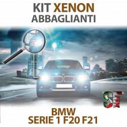 Lampade Xenon Abbaglianti H7 per BMW Serie 1 - F20 / F21 (2010 - 2019) con tecnologia CANBUS