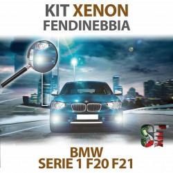 Lampade Xenon Fendinebbia H8 per BMW Serie 1 - F20 / F21 (2010 - 2019) con tecnologia CANBUS