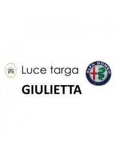 COPPIA LUCI TARGA 5 LED ALFA ROMEO GIULIETTA T10 + SPEGNI SPIA