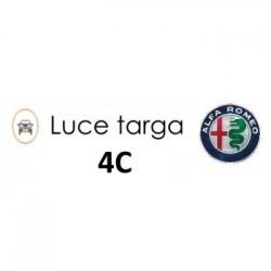 LUCI TARGA LED ALFA ROMEO 4C CANBUS