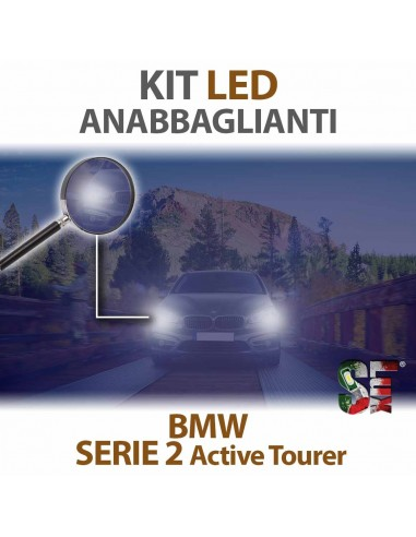 Kit LED Anabbaglianti Per Bmw Serie 2 Active Tourer Serie Top Canbus