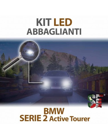 Kit LED Abbaglianti Per Bmw Serie 2 Active Tourer Serie Top Canbus