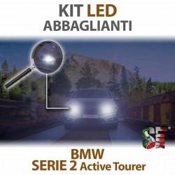 Lampade Led Abbaglianti H7 per BMW Serie 2 - Active Tourer F45 (2013 in poi) con tecnologia CANBUS