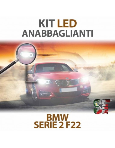 Kit Full Led Anabbaglianti Per Bmw Serie 2 (F22) Specifico Serie Top Canbus