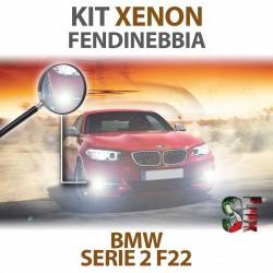 Lampade Xenon Fendinebbia H8 per BMW Serie 2 - F22 F23 F87 (2012 in poi) con tecnologia CANBUS