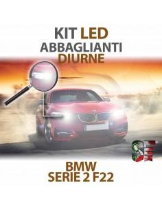 Kit LED Abbaglianti Diurne Per Bmw Serie 2 F22 Serie Top Canbus