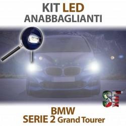 Lampade Led Anabbaglianti H7 per BMW Serie 2 Grand Tourer - F46 (2014 in poi) con tecnologia CANBUS