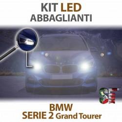 Lampade Led Abbaglianti H7 per BMW Serie 2 Grand Tourer - F46 (2014 in poi) con tecnologia CANBUS