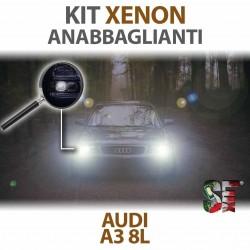Lampade Xenon Anabbaglianti H1 per AUDI A3 8L (1996 - 2003) con tecnologia CANBUS