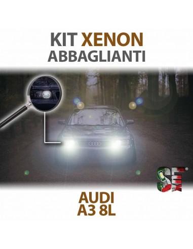 KIT XENON ABBAGLIANTI AUDI A3 8L SPECIFICO Canbus