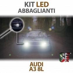 Lampade Led Abbaglianti H7 per AUDI A3 8L (1996 - 2003) con tecnologia CANBUS