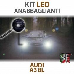 Lampade Led Anabbaglianti H1 per AUDI A3 8L (1996 - 2003) con tecnologia CANBUS