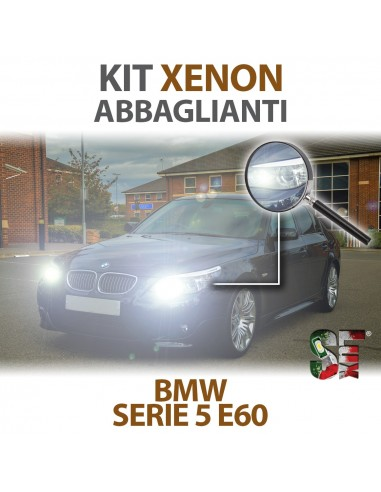 KIT XENON ABBAGLIANTI per BMW Serie 5 (E60) Canbus