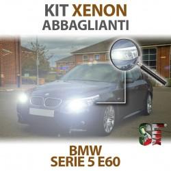 Lampade Xenon Abbaglianti H7 per BMW Serie 5 E60 E61 (2001 -2010) con tecnologia CANBUS