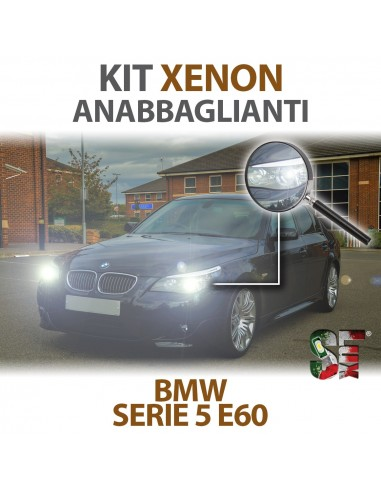 KIT XENON ANABBAGLIANTI per BMW Serie 5 (E60,E61) specifico CANBUS