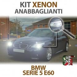 Lampade Xenon Anabbaglianti H7 per BMW Serie 5 E60 E61 (2001 -2010) con tecnologia CANBUS