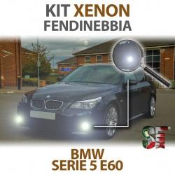 Lampade Xenon Fendinebbia HB4 9006 per BMW Serie 5 E60 E61 (2001 -2010) con tecnologia CANBUS