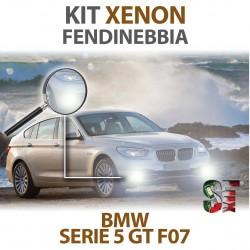Lampade Xenon Fendinebbia H8 per BMW Serie 5 GT F07 (2009 - 2017) con tecnologia CANBUS