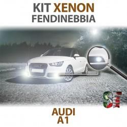 Lampade Xenon Fendinebbia H8 AUDI Restyling A1 8X1 8XK (2010 - 2018) con tecnologia CANBUS