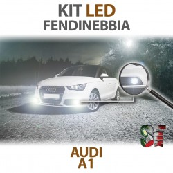 Lampade Led Fendinebbia H11 AUDI A1 Restyling dal 2015 8X1 8XK  CANBUS