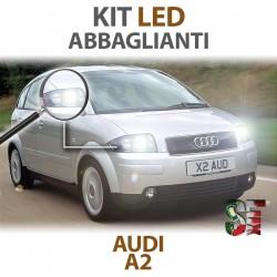 Lampade Led Abbaglianti H3 per AUDI A2 (2000 - 2005) con tecnologia CANBUS