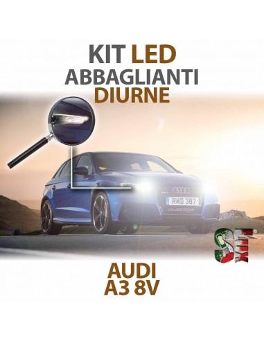 KIT FULL LED ABBAGLIANTI E DIURNE AUDI A3 8V SPECIFICO canbus