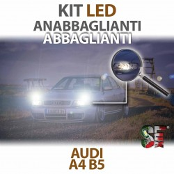 Lampade Led Anabbaglianti Abbaglianti per AUDI A4 - B5 (1994 - 2001) con tecnologia CANBUS