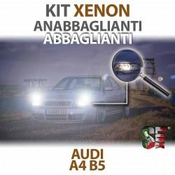 Lampade Xenon Anabbaglianti  per AUDI A4 - B5 (1994 - 2001) con tecnologia CANBUS