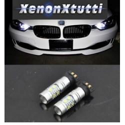 SERIE 3 F30 BMW PW24W DIURNI LED CON FARO XENON