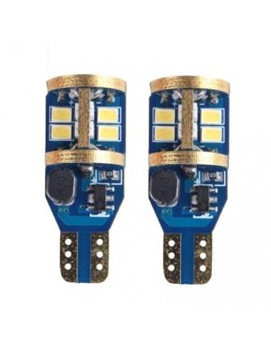 Coppia LED T15 CANBUS W16W 900 lumens 16W ODB Canbus