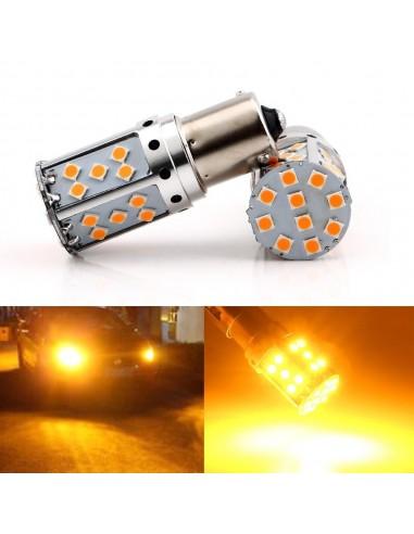 1 Lampada Freccia 1156 / Ba15s 26 Led Arancione