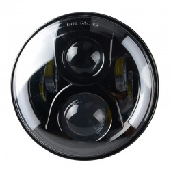"FARO LED 7"" MOTO HARLEY SCOOTER"