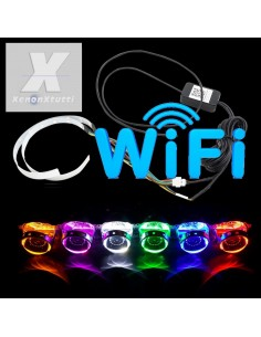 COPPIA DEVIL EYE RGB WIFI APPLE ANDROID