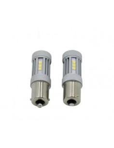 LED 1156 / BA15S P21W 15 LED 880lm RETROMARCIA POSIZIONE CANBUS