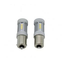 LED 1156 / BA15S P21W 6 LED 880lm RETROMARCIA POSIZIONE CANBUS