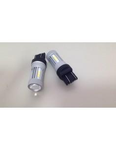 2 LED T20 7443 W21/5W W3x16q 132 LED 3030 880LM