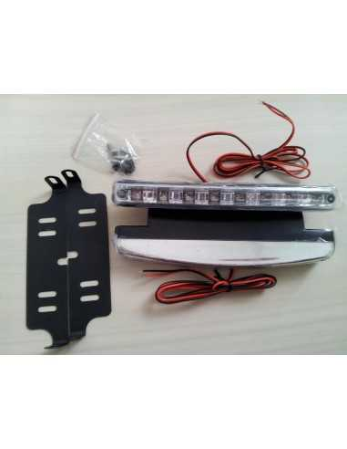 Luci aggiuntive drl for Luci diurne a led