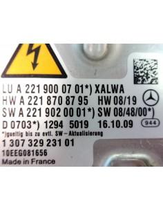 BOSCH 130732923101 XENON MERCEDES BENZ CLASSE S CL  W221 W216 CENTRALINA centralina originale zavorra