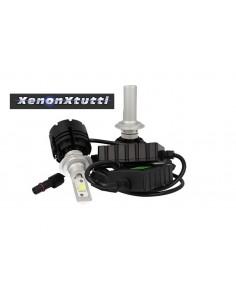 KIT LED H7 PROIETTORE LENTICOLARE XHP-70 MONO LED