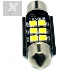 2 SILURO 3030 6 41MM LED CANBUS SUPER-LUMINOSI SILURI