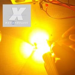 SUPER CANBUS LED 1156 FRECCIA ARANCIONE BAU15S P21W 54 LED