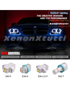 ANGEL EYES BMW 60W LED LAMPADA ANELLO DEFINITIVO SEZIE 1 2 3 5 7 X1 X3 X4 X5 X6 Z4