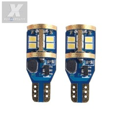 2 LED T15 CANBUS W16W 900 lumens 16W ODB Canbus