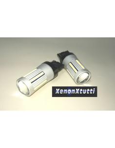 SUPER CANBUS LED T20 7440 BIANCO 66 LED 2016 1300lm